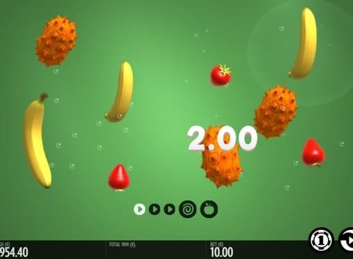 Выпадение комбинации во Fruit Warp