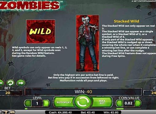 Дикий знак в игре Zombies