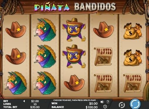 Онлайн игра Pinata Bandidos