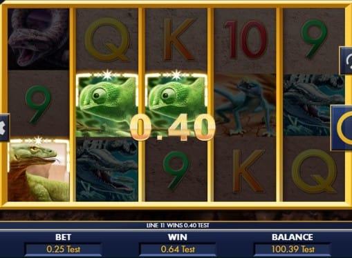 Выигрыш в Reptile Riches онлайн