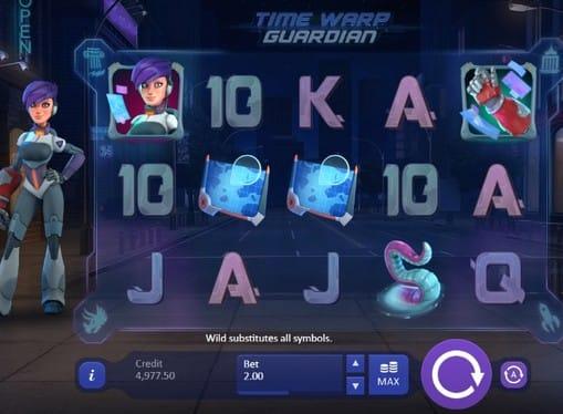 Комбинация символов в Time Warp Guardian