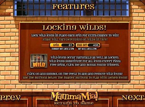 Описание символа Wild в Mamma Mia онлайн