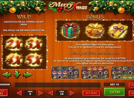 Wild в Merry Xmas онлайн