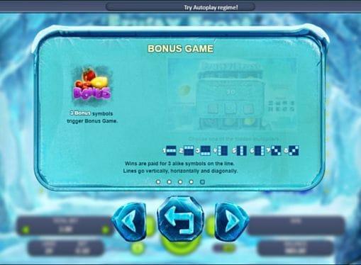Бонусная игра в онлайн Fruity Frost